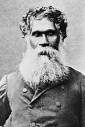 Portrait of William Barak.