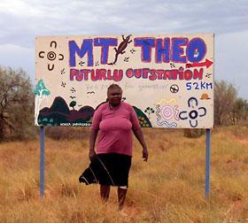 Mt Theo program poster
