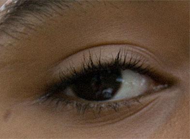 Detail of a human eye