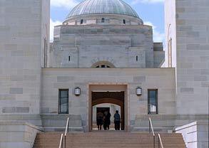 Anzac: Australian War Memorial in Canberra.