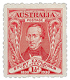 Stamp: Centenary of the exploration of the Murray River.