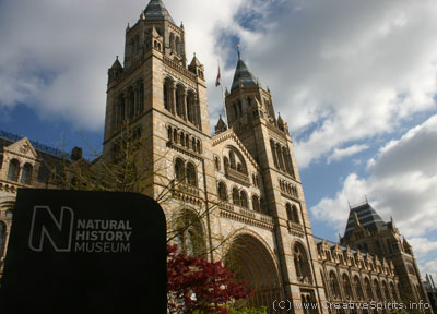 London's Natural History Museum.