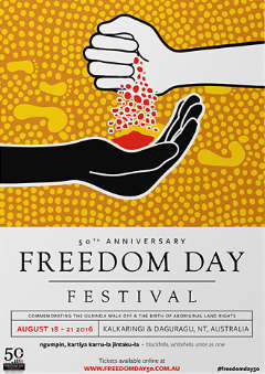 Poster of the 2016 Freedom Day Festival.
