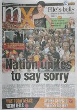 National apology - MX Sydney
