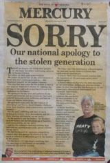 National apology - Mercury Tasmania