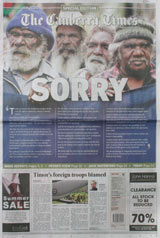 National apology - Canberra Times