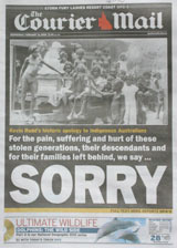 National apology - Courier Mail