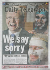 National apology - Daily Telegraph