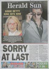 National apology - Herald Sun