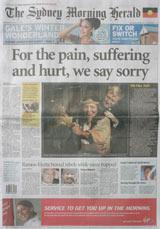 National apology - Sydney Morning Herald