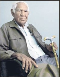 Peter 'Kangushot' Coppin, one of the leaders of the 1946 Pilbara strike.