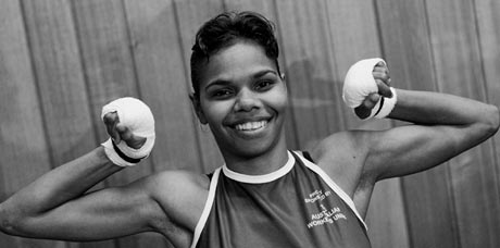 Boxing For Palm Island - still image