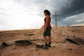 Still image from 'Plains Empty'.