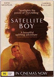 A newspaper ad for Satellite Boy.