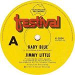 Jimmy Little - Baby Blue (7″)