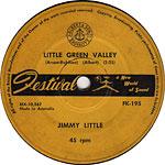 Jimmy Little - Little Green Valley (7″)