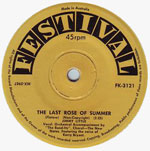 Jimmy Little - The Last Rose of Summer (7″)
