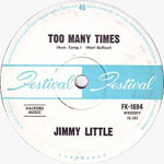 Jimmy Little - Too Many Times (7″)