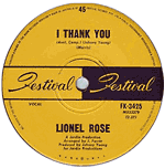 "Lionel Rose - I Thank You (7"")"