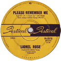 Lionel Rose - Please Remember Me